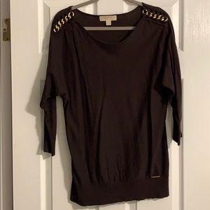 Michael kors brown sweater